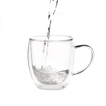Professional glass cup for water for Thailand