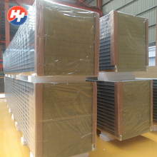 Polyurethane rockwool fireproof insulated sandwich panels suppliers