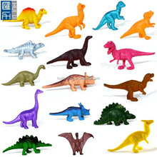 3inch small dinosaur pvc figurine, making mini dinosaur figure toy with factory price