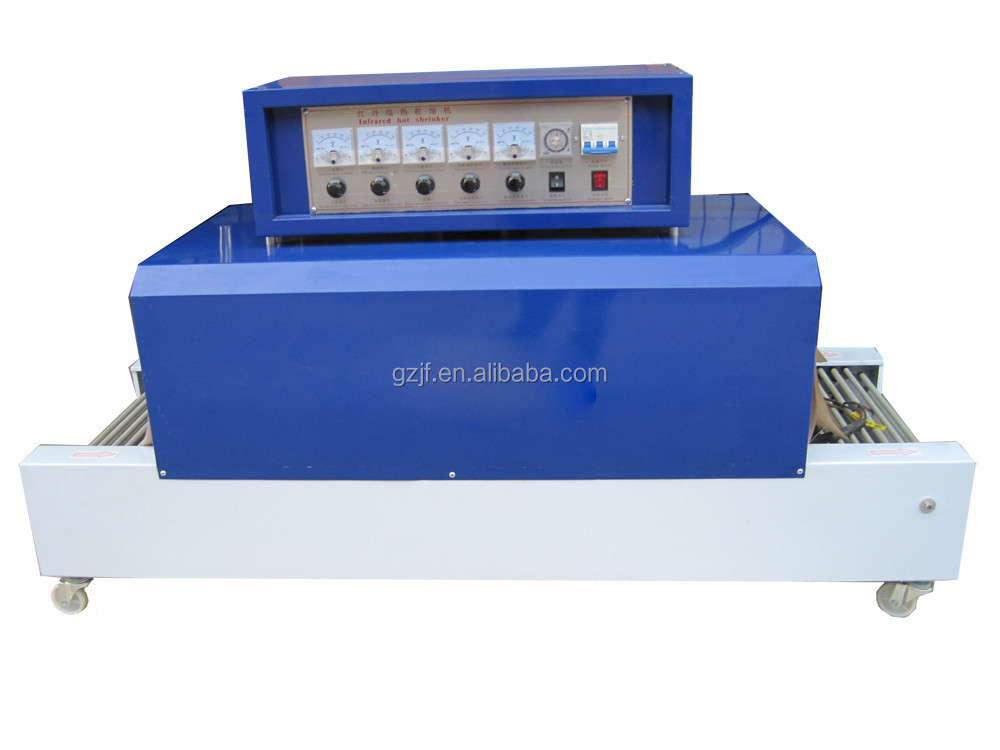2015 JF high quanlity Cap Seal shrink tunnel, Shrink wrapping machine