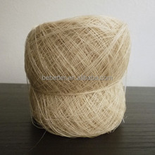 Hand made natural organic 100% ramie yarn for wholese