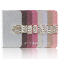 Luxury wallet design PU leather mobile phone case for iphone4 4S 5