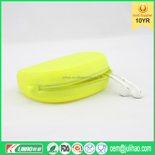 Silicone Pouch Wallet Purse Cover Card Holder Phone Mobile Key Coin Bag Gift Random Color