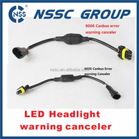 LED headlight warning canceller for auto car led headlight