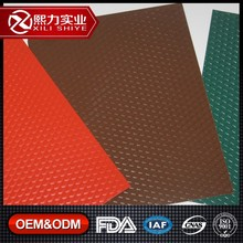 1100 embossed aluminium rolls / diamond stucco embossed color coated coil for roof tiles with soncap