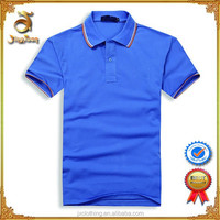 New 2015 Mens Clothing Custom Polo Shirt 100% cotton with yarn dyed rib collar