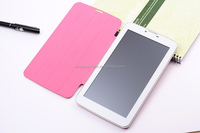 Smart dual core 3G 7 inch tablet pc with phone function and protection cover MTK8312 1G/8G wifi FM GPS BT 0.3M/2.0 camera