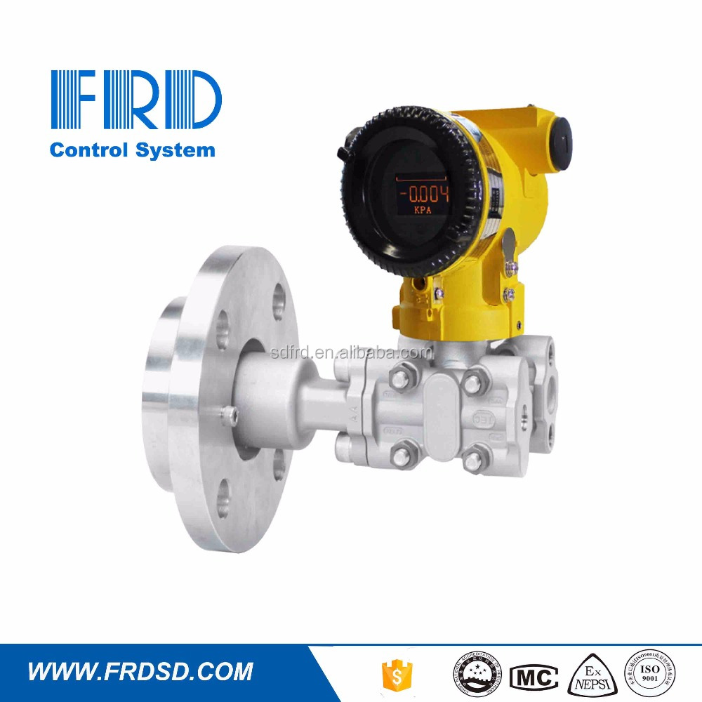 flange mounted diaphragm type differential pressure transmitter