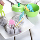 Cute Plastic Fruit Forks Set Apple Container Cake Dessert Forks for Kids Children Eating Stickers Kitchen Accessories