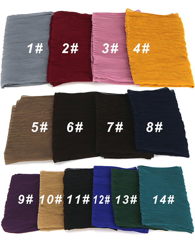 Wholesale New Crinkle Chiffon Hijab Women Shawls Stoles For Australia Women And Arab People