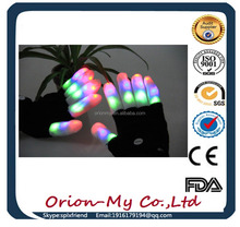 led gloves as gifts Electronic Magic Lighted Up LED Gloves Colorful Led Flashing led Dancing Gloves LED