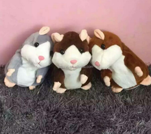 free sample talking hamster mimicry pet toy hamster/MOQ10PCS repeat talking hamster toy