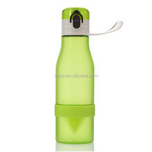 Best 500 ML Fruit Juice Cup Infuser Plastic Sport Drinking Health Lemon Bicycle Bottle with Flip Lid
