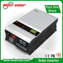 ISO and SGS solar inverter factory with CE certificate PV3500 series 5kw within 48V 60A MPPT controller hybrid solar inverter