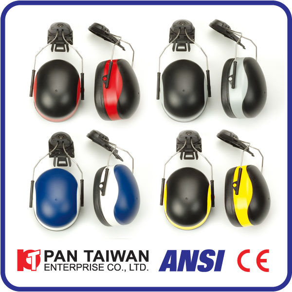 SE1344N ANSI&CE Dual Color Cap Mounted Ear Muff series: Ear Mufflers