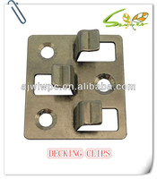 Stainless steel accessories for wpc decking board clips