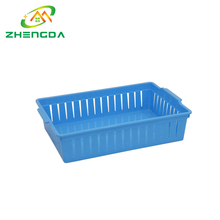 Can be customized wholesale plastic bread, food, products storage baskets