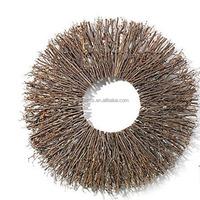 Handmade Unfinishend Starburst Twig Wreath