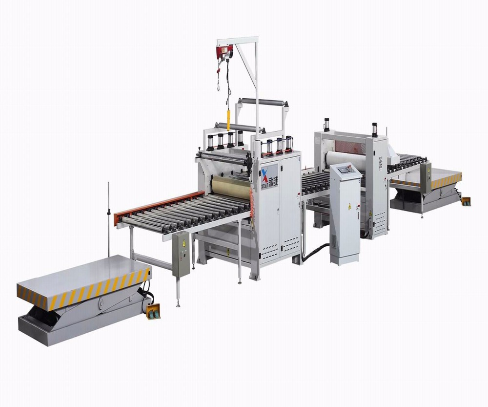 China MDF Paper PVC laminating line press machine woodworking machinery