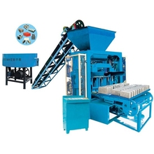ZCJK QTJ4-35 used Automatic Solid Hollow Block Molding Machine,Brick Making Machine ,Soil Brick Making Machine in India