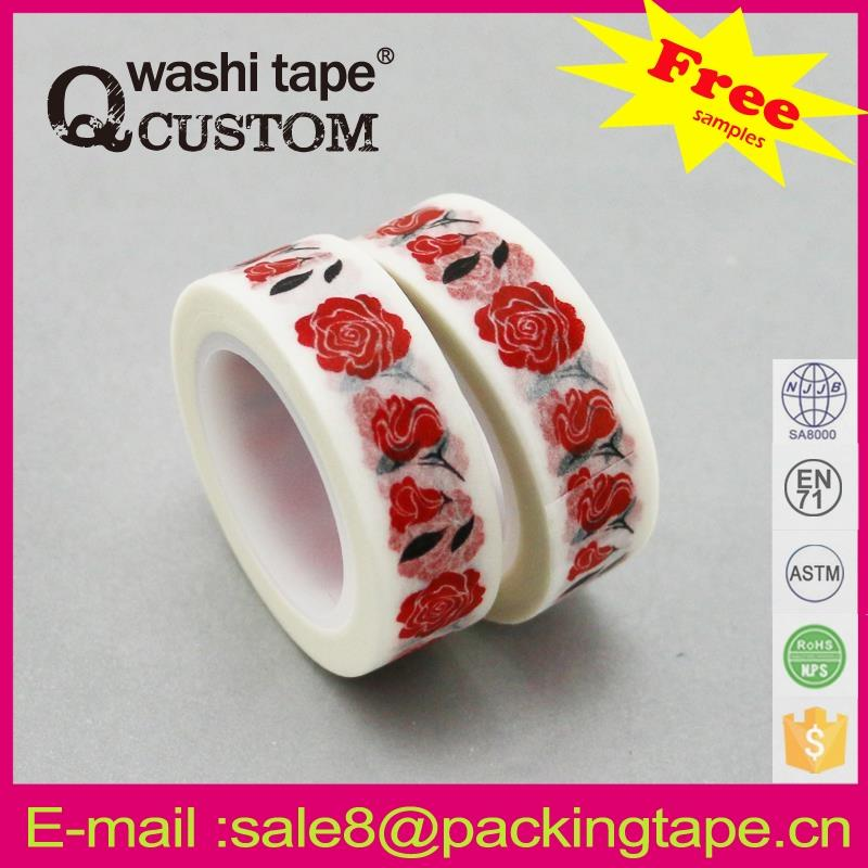 high temperature resistance writable crafts chevron washi tape within any patterns design