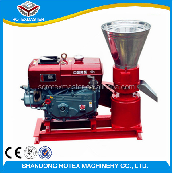 Cheap Price Small Diesel Engine Poultry Feed Pellet Machine / Animal Feed Pellet Mill