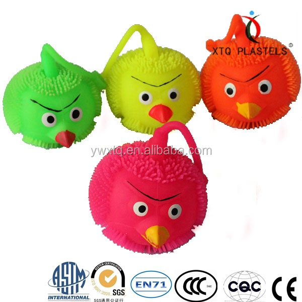 lovely yoyo birds,flashing and soft kids toys
