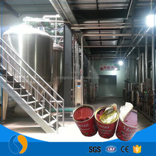 Tomato juice concentrate processing plants