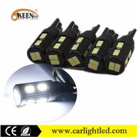 24V Aluminum Housing T10 501 LED 194 Car Light Canbus 5630 SMD 10 LED Interior Domen Light For Cars