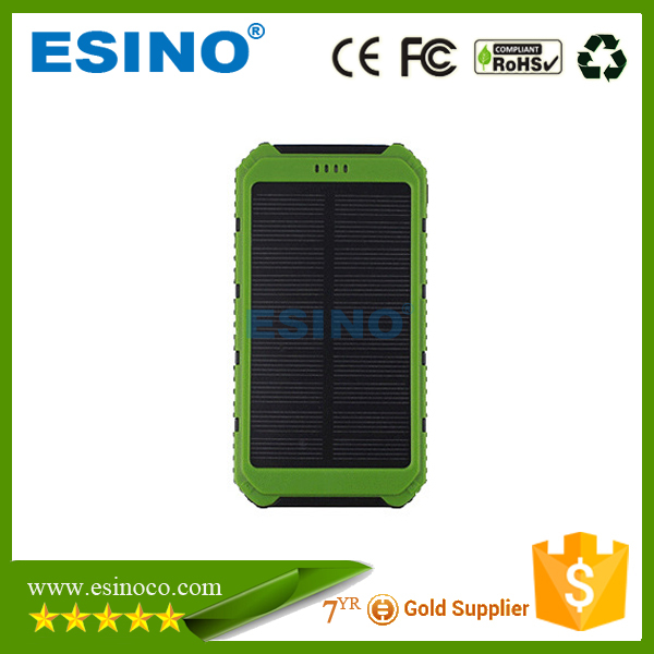 hot power bank 8000mah solar sun charger mobile portable charger