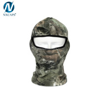 Custom Camouflage Thermal Fleece Balaclava Warm Winter Cycling Ski Neck Masks Hoods Paintball Hats Full Face Mask