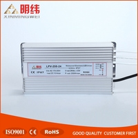 CE ROHS LPV-250-24 waterproof led driver 24v switching power supply
