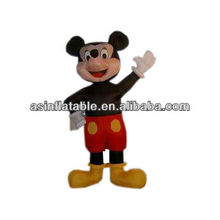 good quality new design popular inflatable cartoon characters