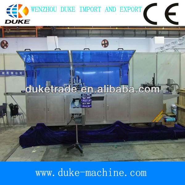Full automatic hot sales computer controlled paper packing machine