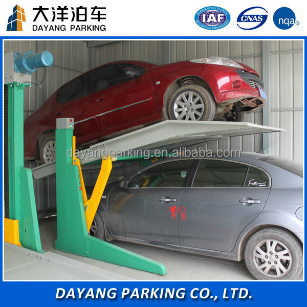Micro house car stacker lift mechanical magic smart car parking system,easy parking equipment