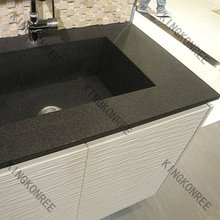 acrylic solid surface modern bathroom vanities