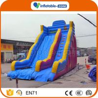 Cheap wholesale inflatable bouncy slide castle hot big kahuna inflatable water slide