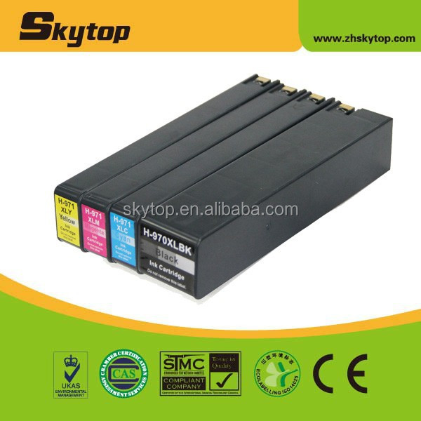 Skytop 100% new ink cartridge for hp 970