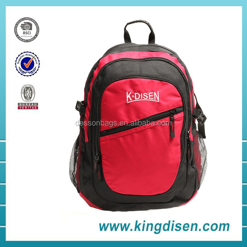 2016 New design famous brand backpack bag for high school girls