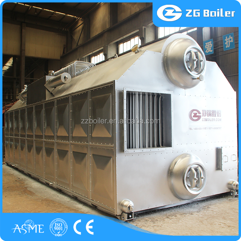 Full Automatic used top class coal fired szl steam boiler for cement plant