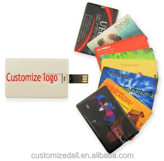 Card Usb Flash Drive 4gb 8gb 16gb Ultra Thin Credit Card cheap USB pendrive
