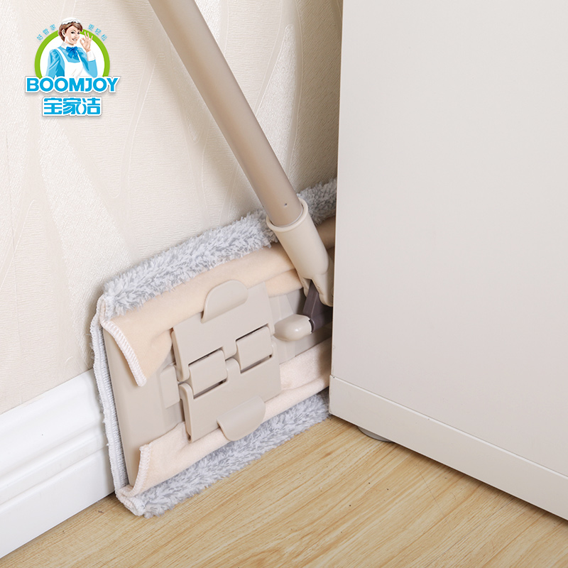 Boomjoy E1 Microfiber clamping mop shopping online India big seller 2018 floor cleaning flat mop