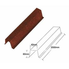 Ridge Hip stone coated roof tile,Metal roof