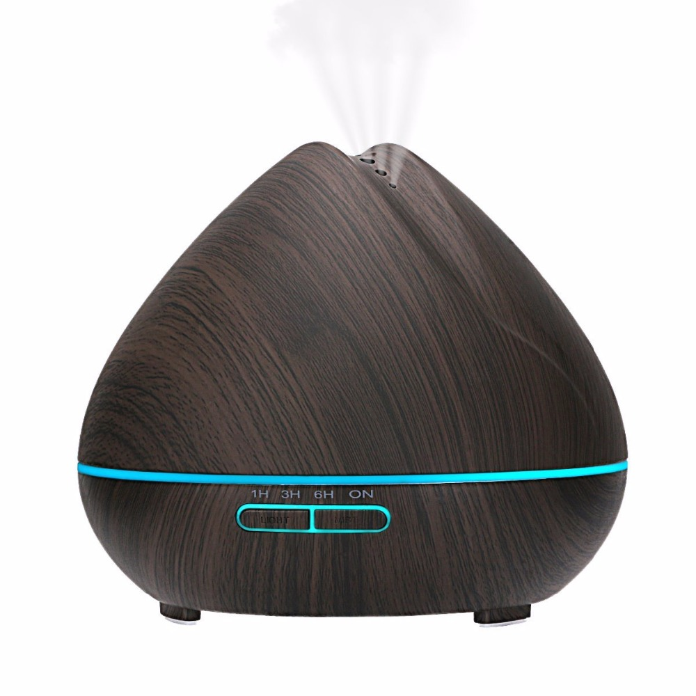 Essential Wood Aromatherapy Oil Air Diffuser Scent Ultrasonic Essential Oil Diffuser