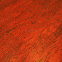 Elm Embossed Engineered Wood Flooring Green