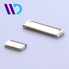 Factory supply R/A SMT up and under contact 0.5mm pitch 26 pin fpc connector