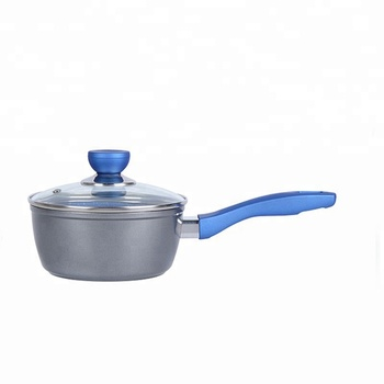 Forged aluminium milk boiling pot with granite coated