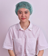 Medical disposable items surgical spunlace mesh scrub caps, nurse hat, bouffant caps Disposable Surgical PP Clip Cap