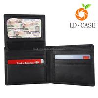 Buy Vintage Mens Leather Checkbook Rfid Blocking Wallet in China ...