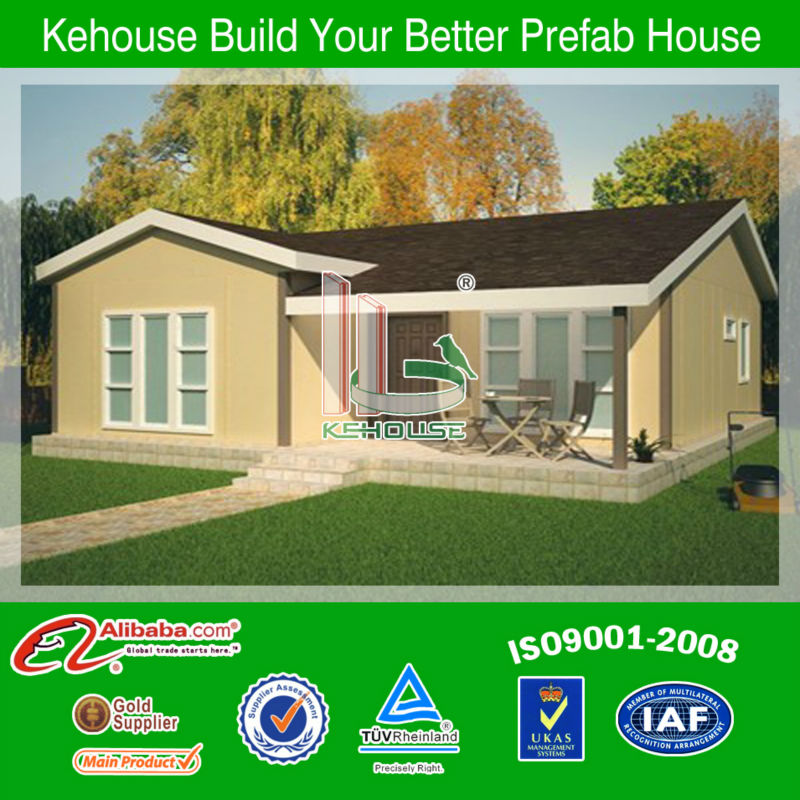 China flat pack homes Villa house Modular homes with cheap price